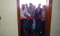 Ribbon Cutting under Blood Donation Camp at M/s. KLJ Plasticizers Ltd