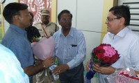 Welcome to new Administrator of DNH Shri Madhup Vyasji  by the representative of Federation of Industries Associations