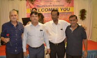 AGM and Cocktail Party sponsored by Shri Devshi Bhai & Shri Ajit Bhai of Prashant Developers Pvt. Ltd. at Yatri Niwas.