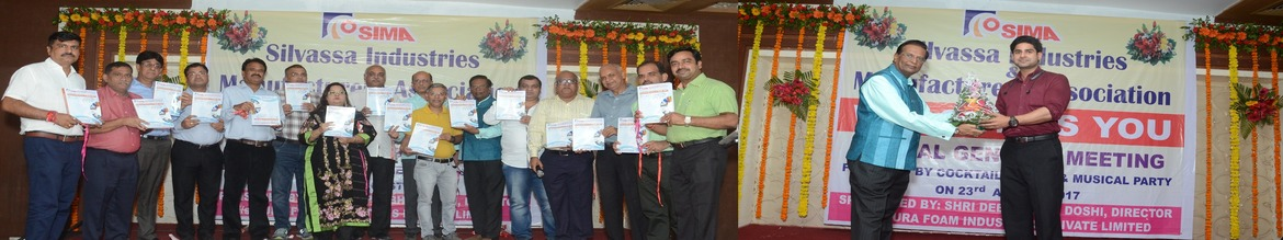 Annual General Meeting and Launching of Industrial Directory, Grand Cocktail Party and Musical Program sponsored by Shri Deepakbhai Doshi
